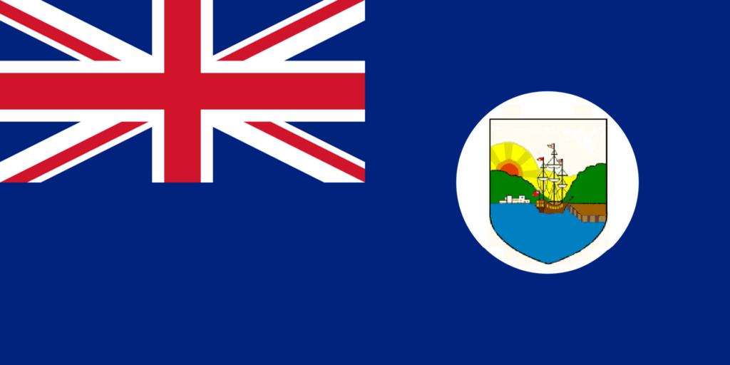 1955 — 1965 Флаг колонии Доминика