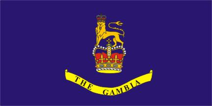 Флаг Генерал-губернатора Гамбии 18 февраля 1965 — 24 апреля 1970