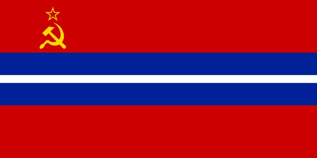 Флаг Киргизии в 1991—1992 годах