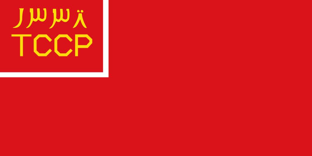 Флаг Туркестанской АССР в 1921—1924 годах