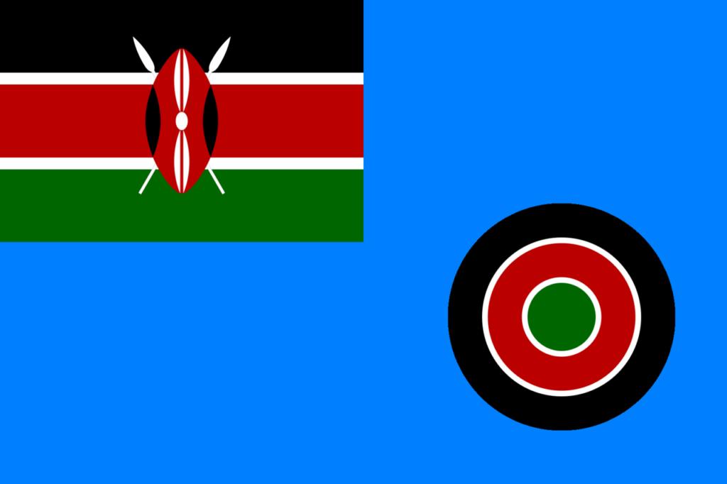 Военно- воздушный флаг Кении