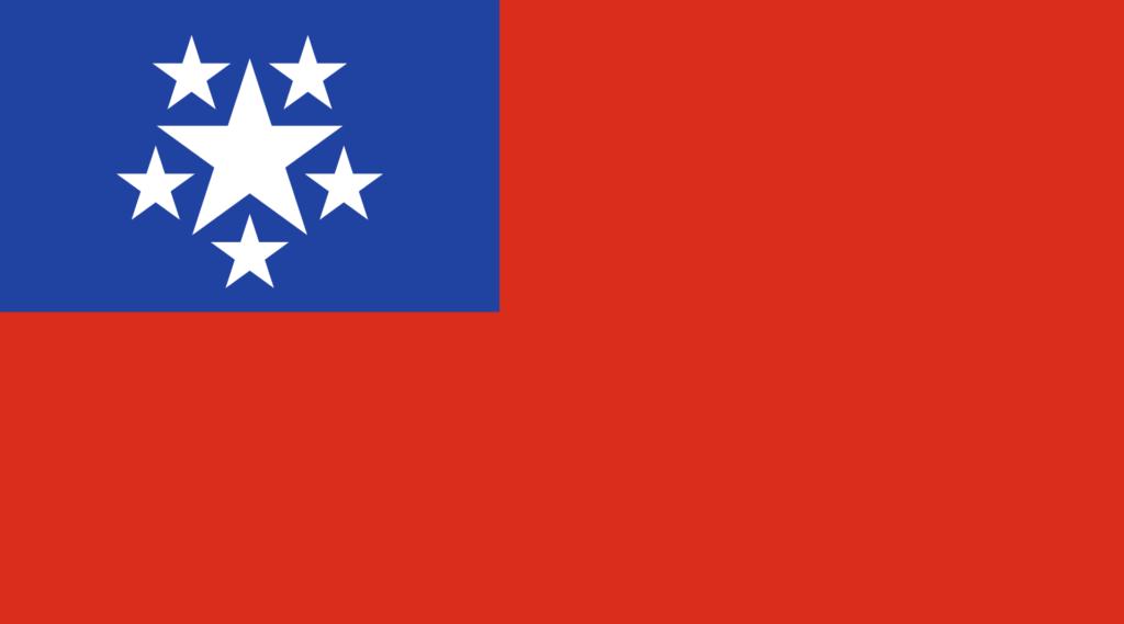 Флаг Бирманского Союза (1948-1974)