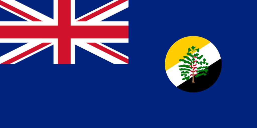Флаг Британского протектората Центральной Африки 23 февраля 1893 — 11 мая 1914