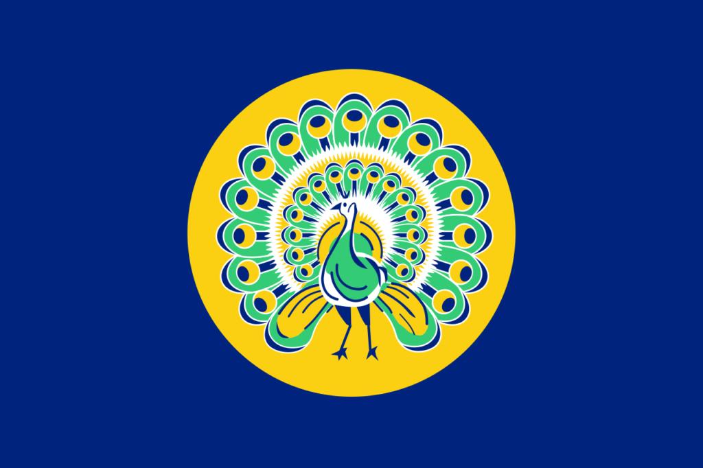 Флаг Британской Бирмы как отдельной колонии (1941-1942)