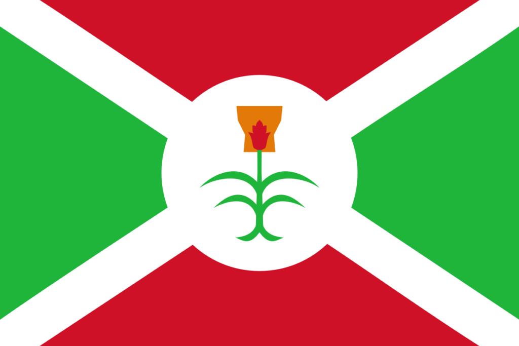 Флаг Бурунди 1962 - 1966