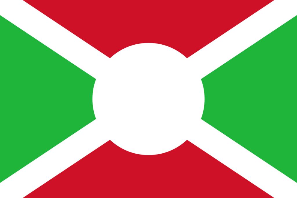 Флаг Бурунди 1966