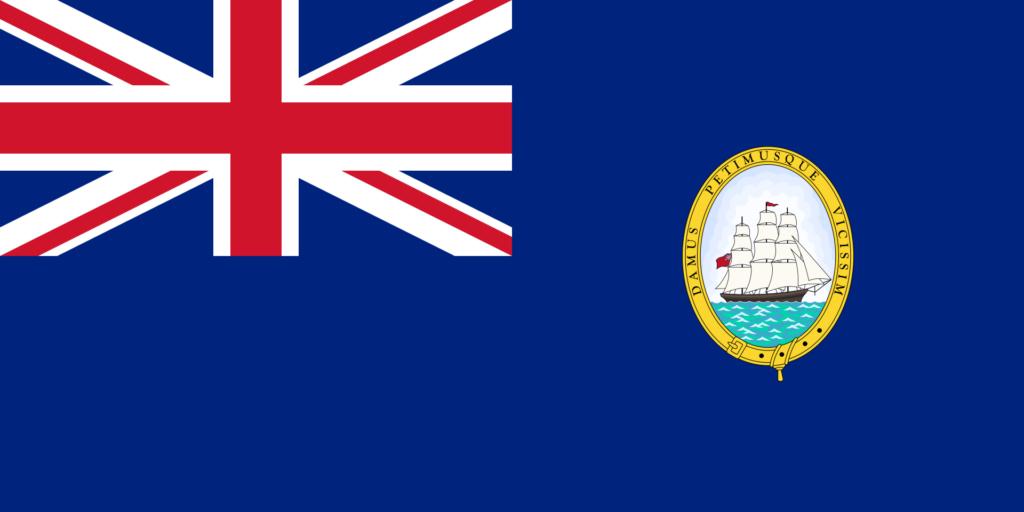 Флаг Гайаны 1906 — 8 декабря 1954
