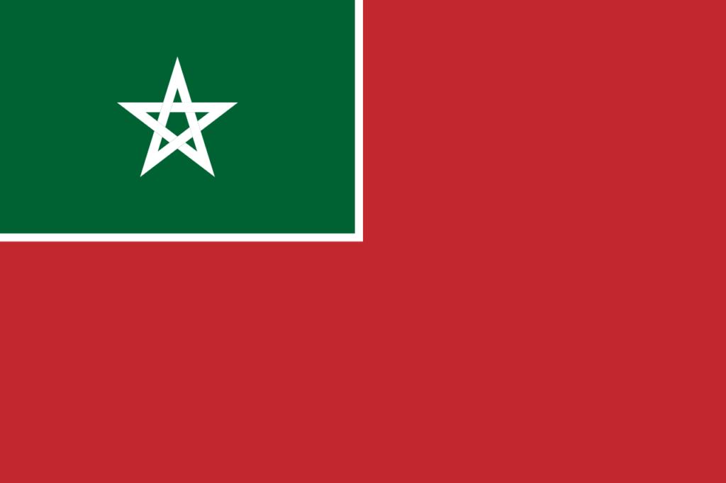Флаг Испанского Марокко 7 января 1937 - 7 апреля 1956