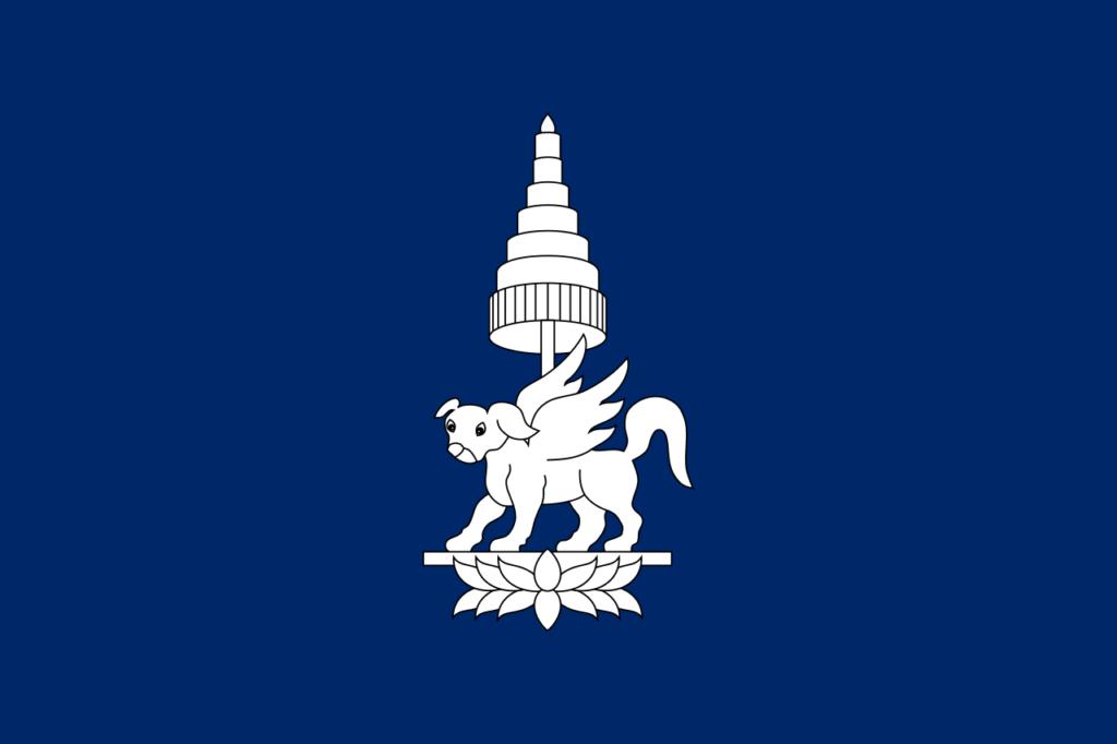 Флаг Королевства Чампасак