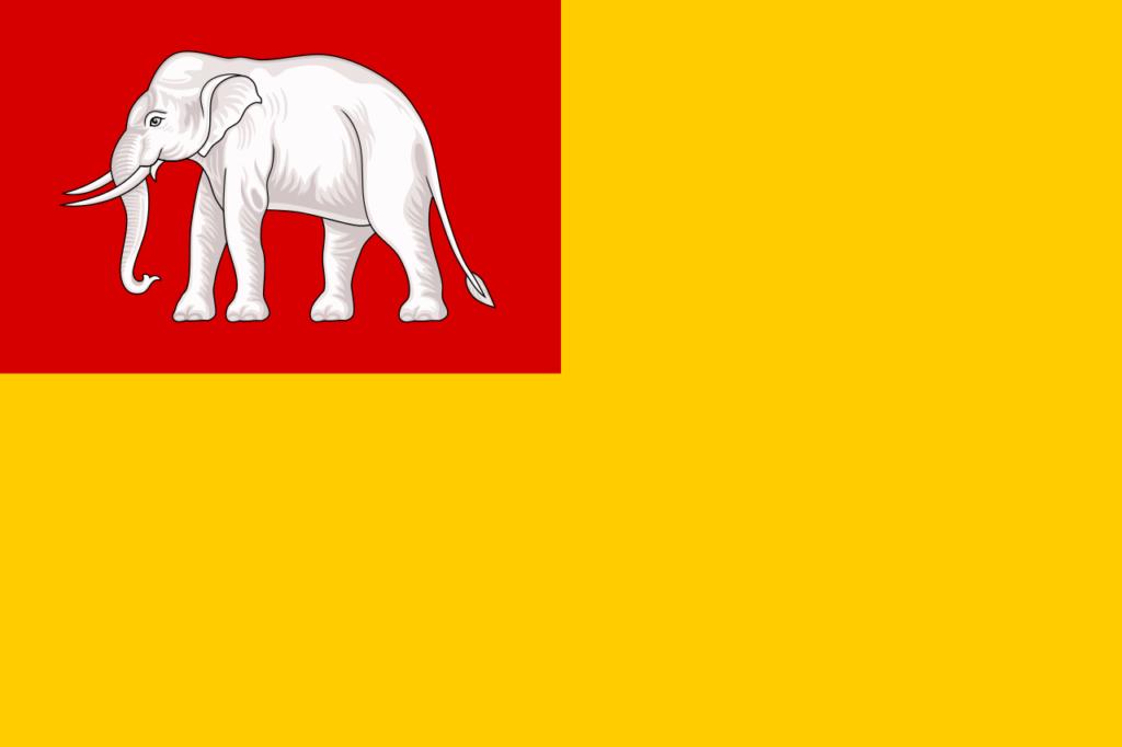 флаг Королевство Вьентьян