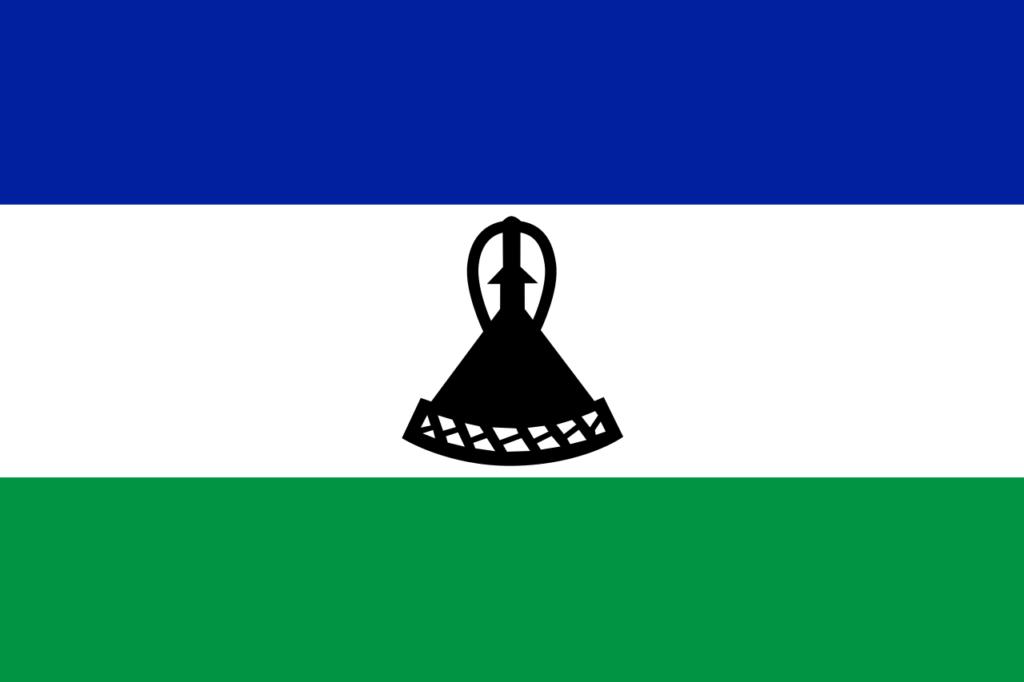 флаг Лесото