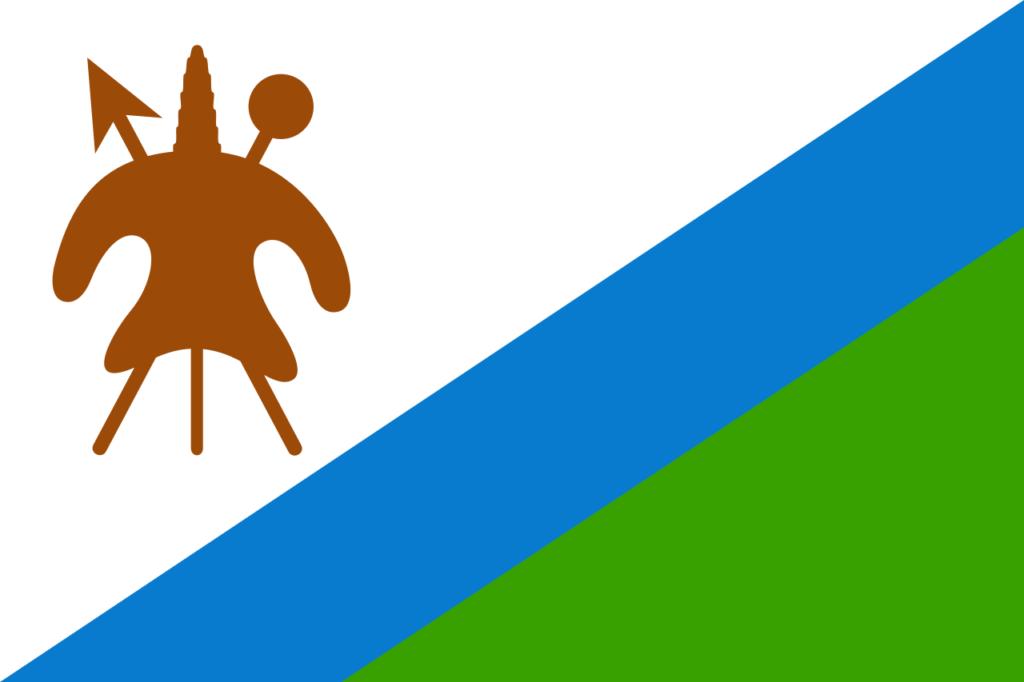 Флаг Лесото 20 января 1987 — 4 октября 2006