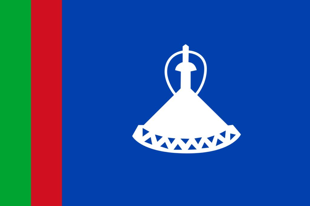 Флаг Лесото 4 октября 1966 — 20 января 1987