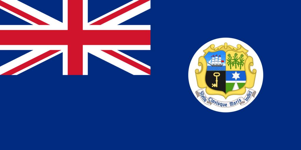 Флаг Маврикия 14 декабря 1869 — 25 августа 1906