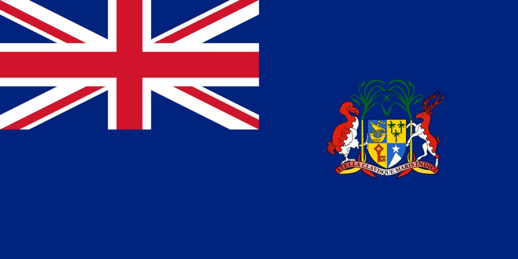Флаг Маврикия 14 декабря 1923 — 12 марта 1968