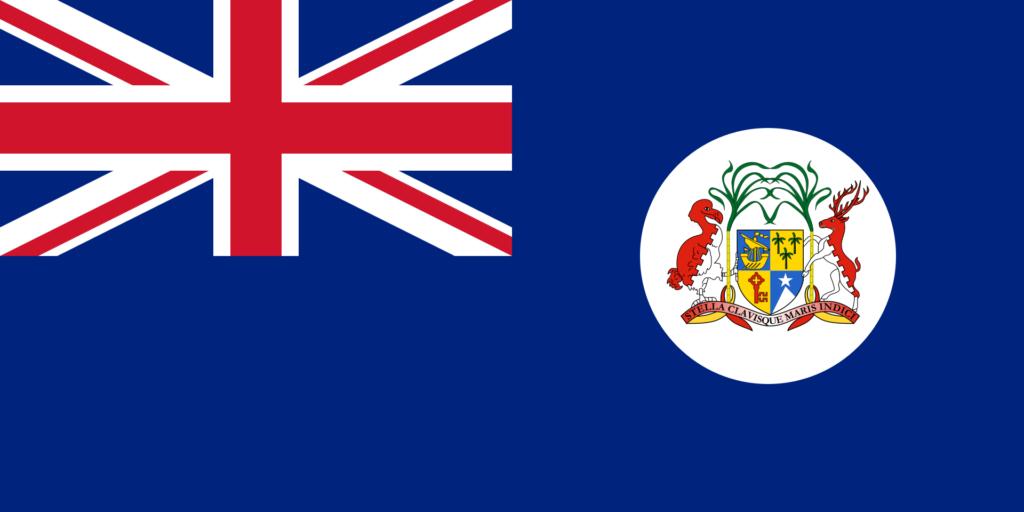 Флаг Маврикия 25 августа 1906 — 14 декабря 1923