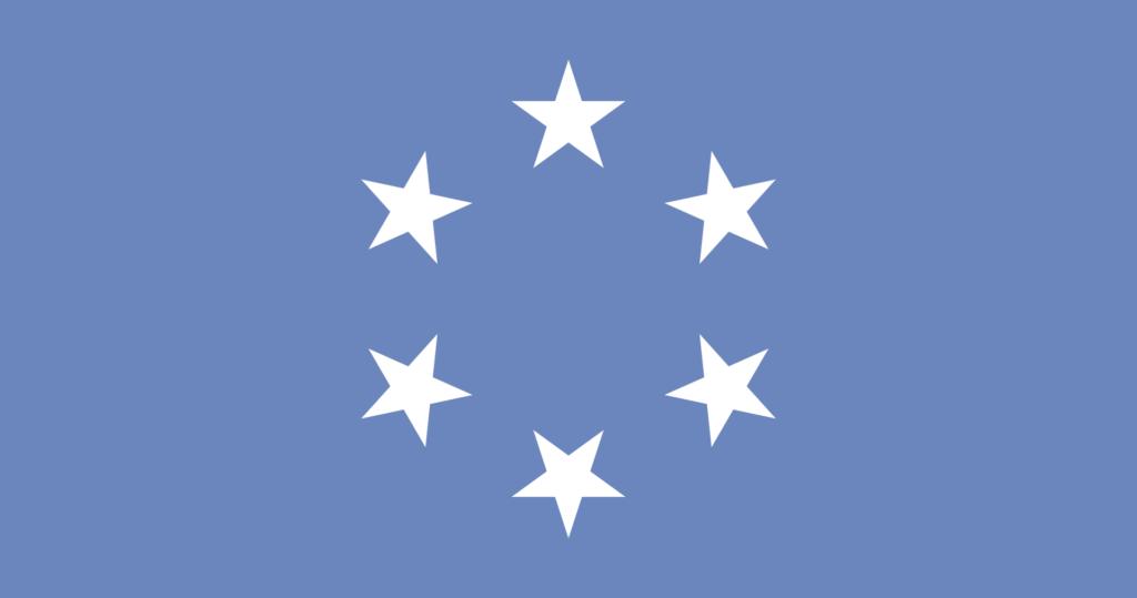 Флаг Подопечной территории Тихоокеанские острова (19 августа 1965 года — 1 мая 1979 года)