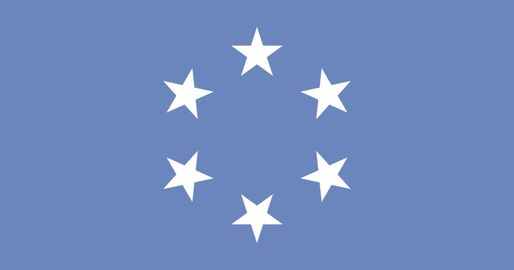 Флаг Подопечной территории Тихоокеанские острова (19 августа 1965 года — 30 ноября 1978 года)