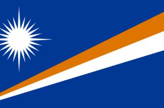 Флаг Республики Маршалловы Острова