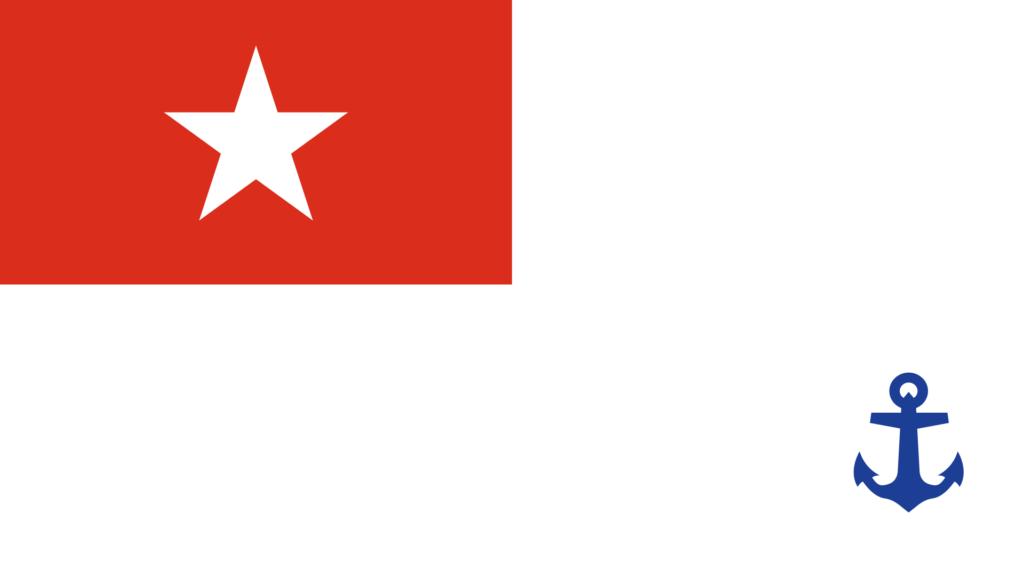Флаг ВМФ Мьянмы