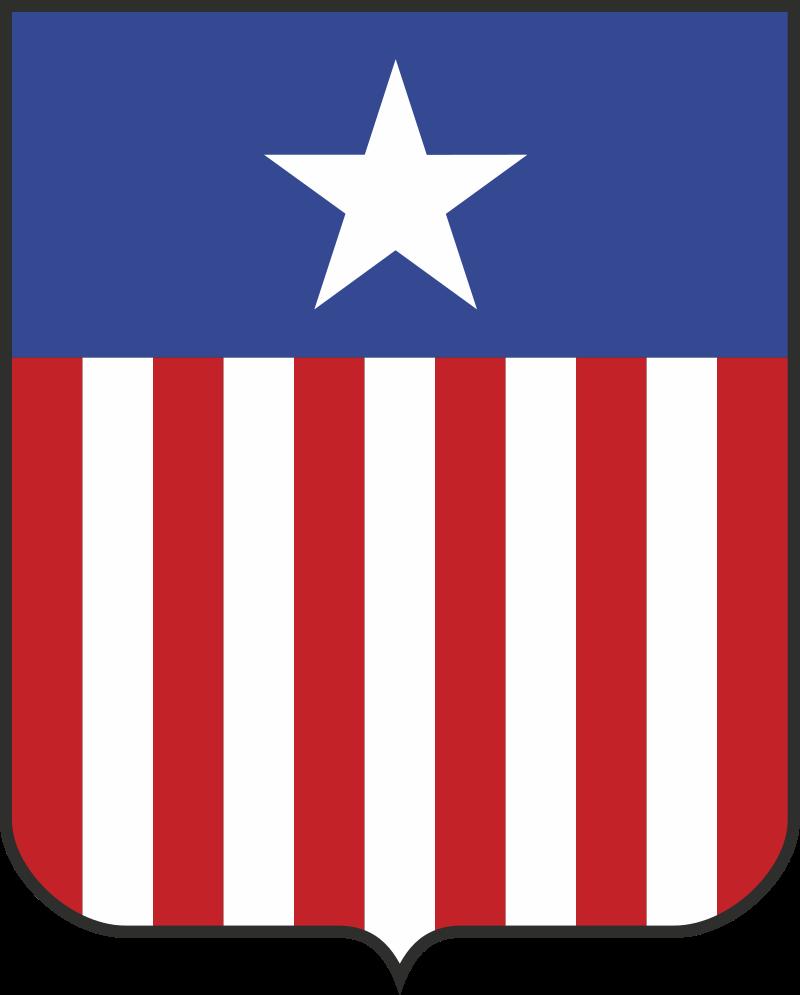 Герб Либерии 1889 г.