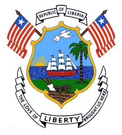 Герб Либерии 1921 г.