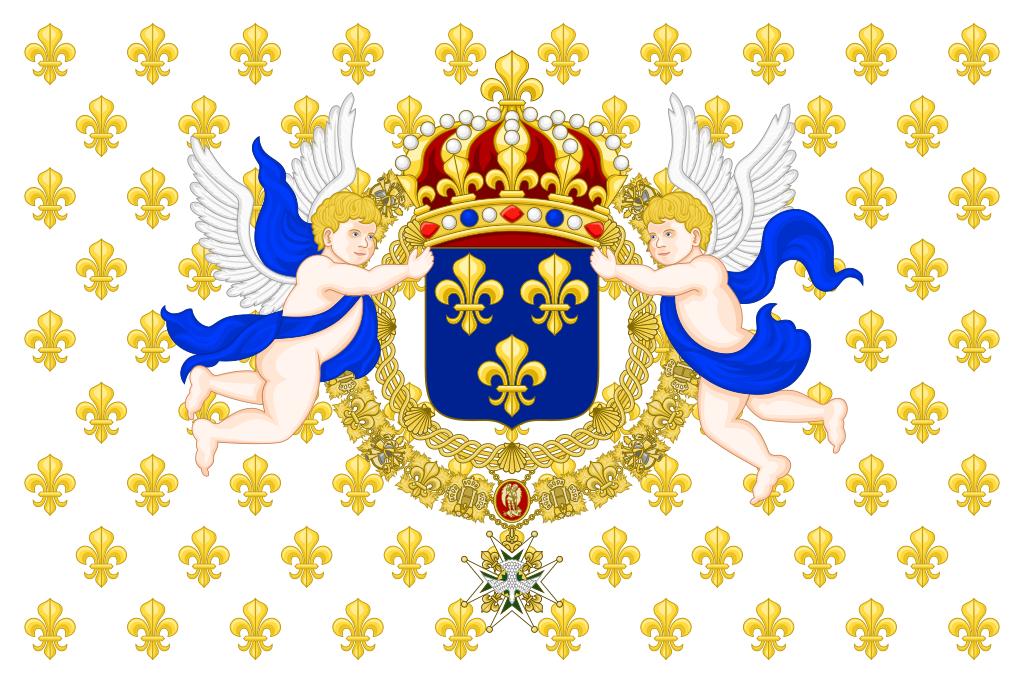 Знамя династии Бурбонов