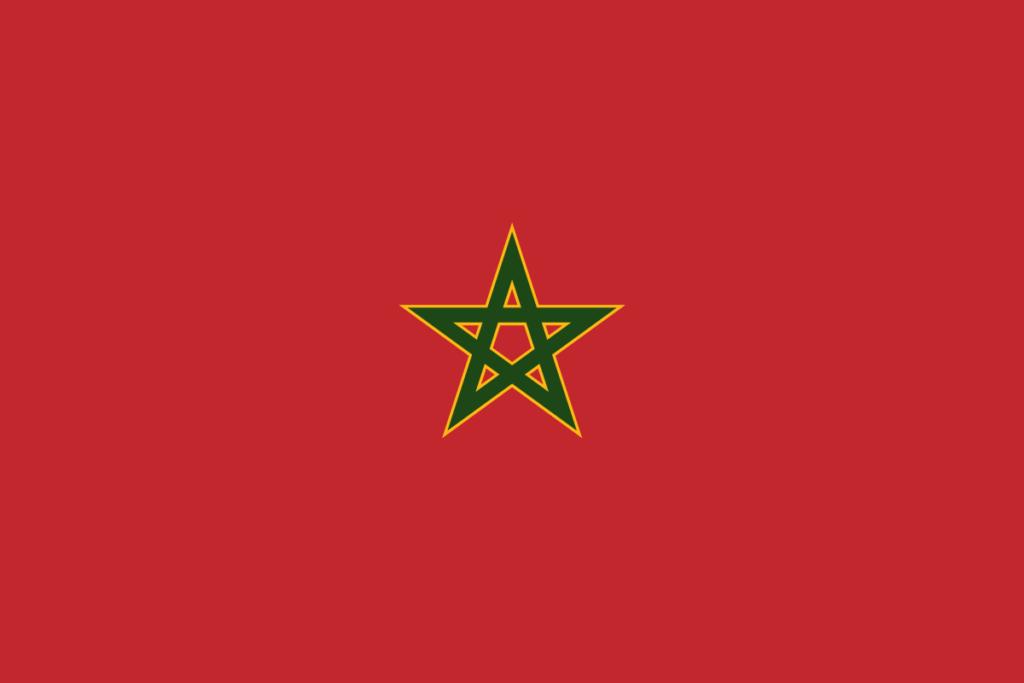 Королевский флаг Морокко