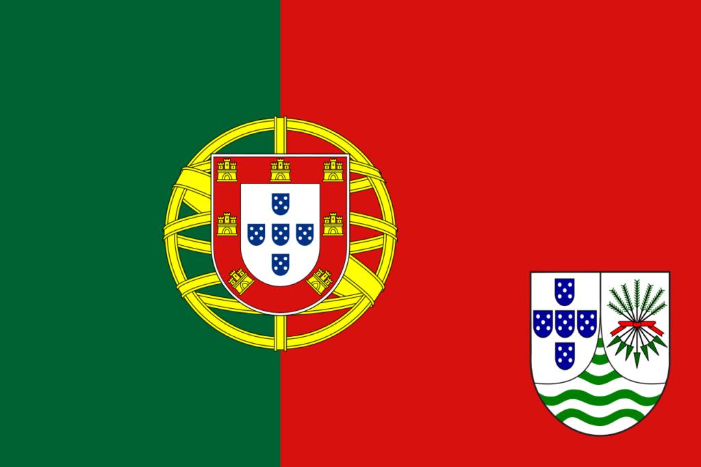 Проект 1966 года флага заморской португальской провинции Мозамбик