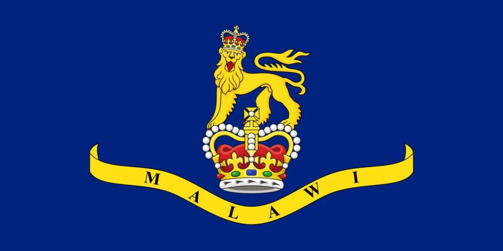 Штандарт генерал-губернатора Малави 4 июля 1964 — 4 июля 1966