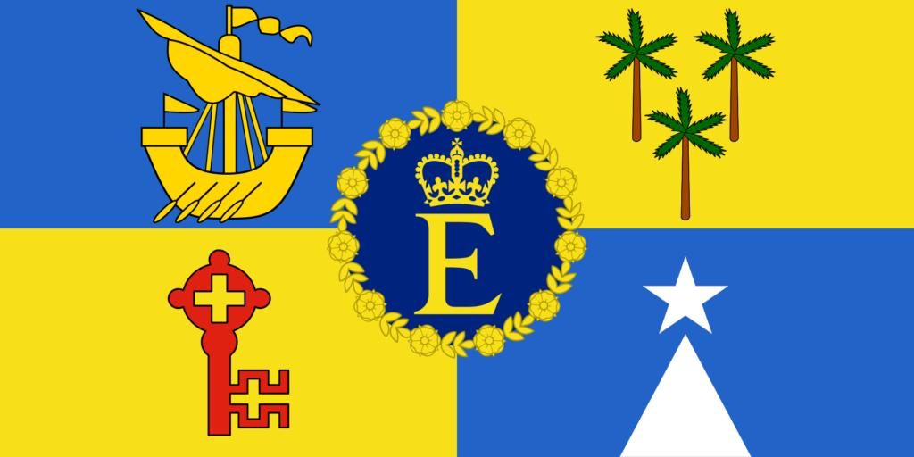 Штандарт королевы (1968—1991)