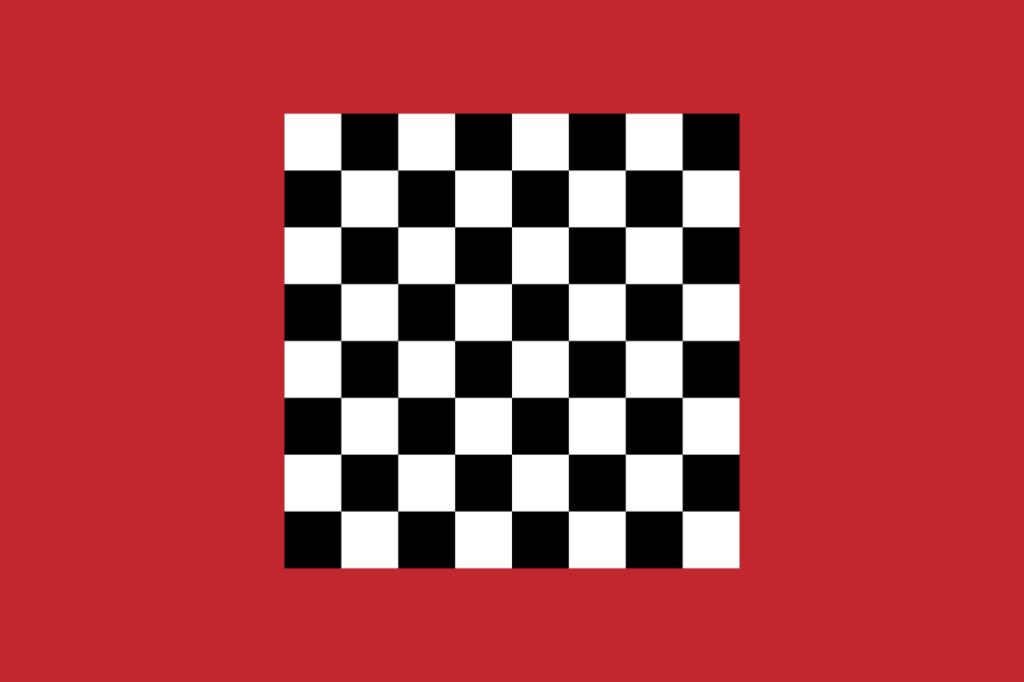 Старейший известный флаг Марокко (XI—XIII века)