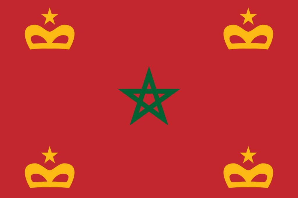 Военно-морской флаг Марокко