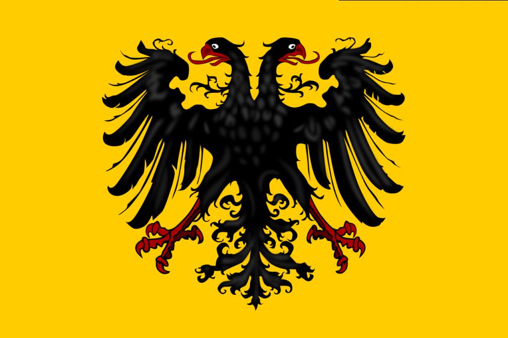 Знамя Священной Римской империи германской нации (современная прорисовка)