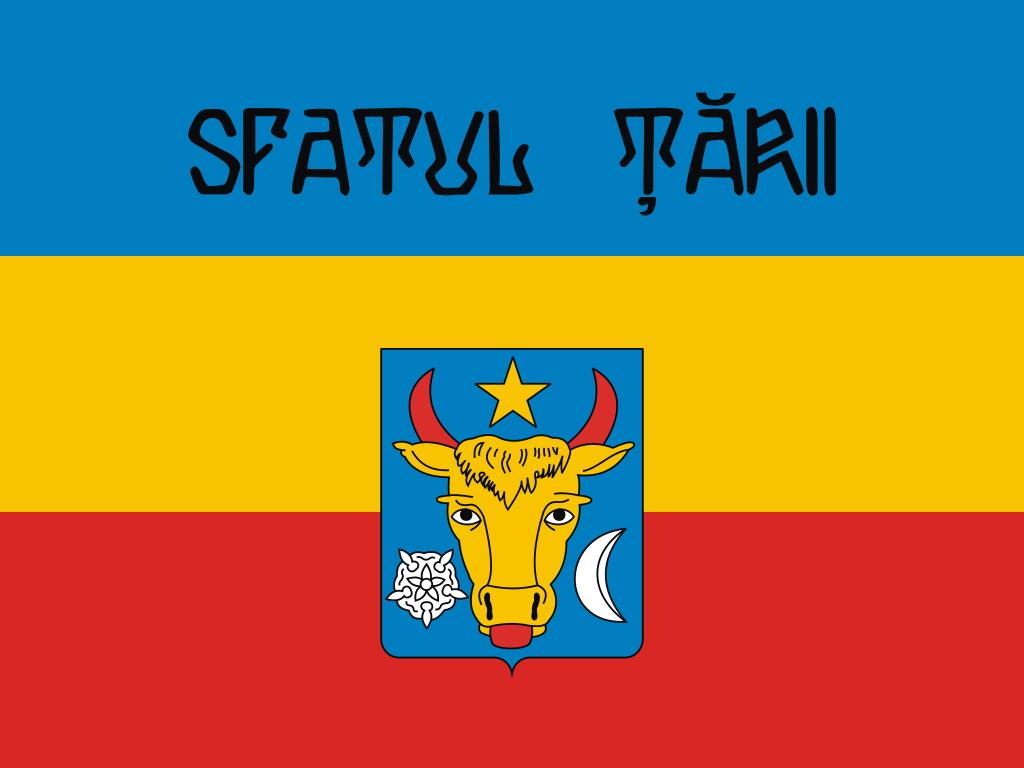 Флаг «Сфатул Цэрий» («Совет края»)