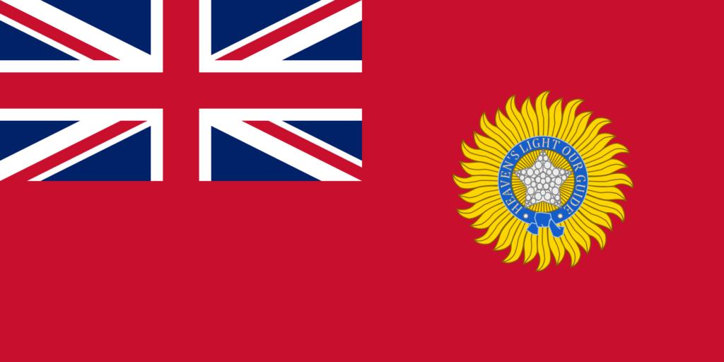 Флаг Британской Индии