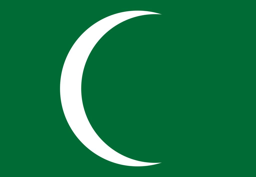 Флаг Дирийского Эмирата (1744—1818)
