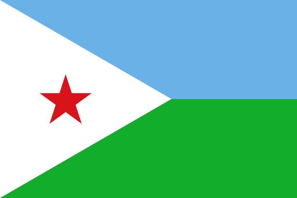 Флаг Джибути