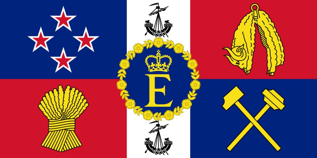 Флаг королевы Новой Зеландии