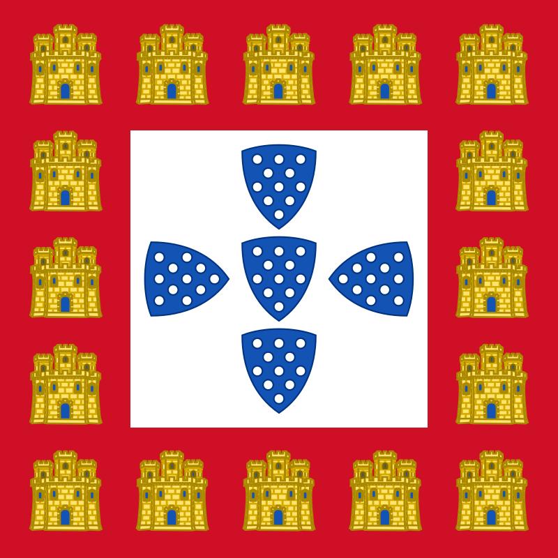 Флаг Короля Афонсу III (1248)