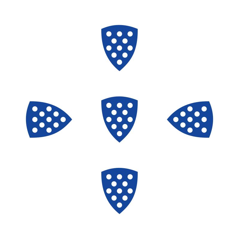 Флаг Короля Саншу I (1185)
