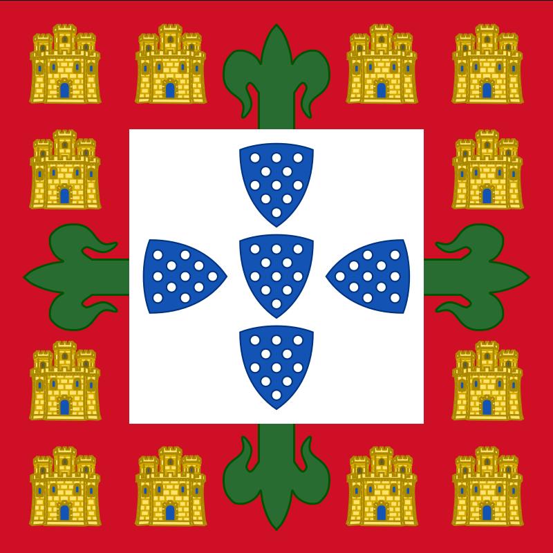 Флаг Короля Жуана I (1385)