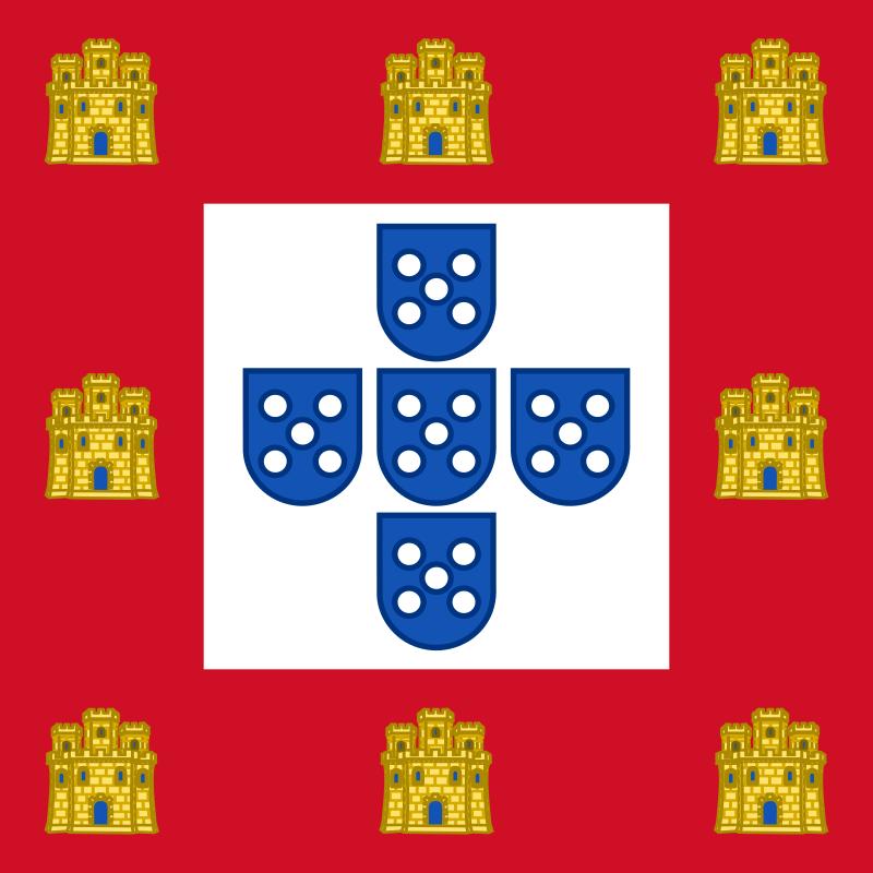 Флаг Короля Жуана II (1485)