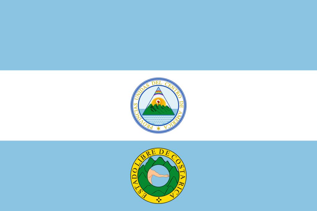 Флаг Коста-Рики (1824)