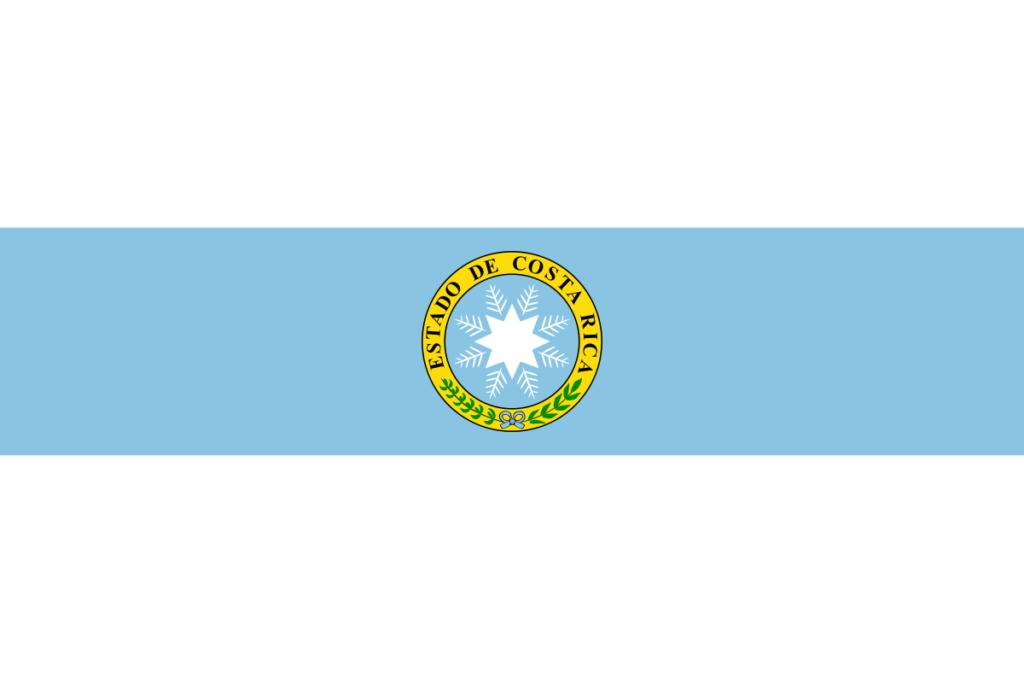 Флаг Коста-Рики (1840-1842)