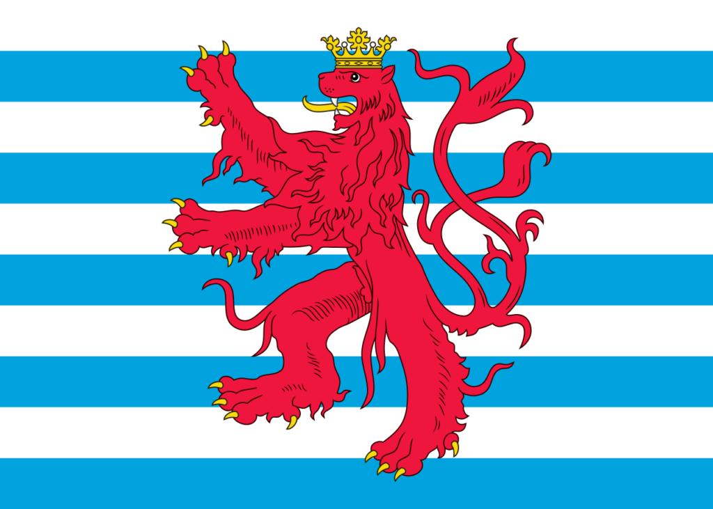Флаг Люксембурга - Красный лев.png