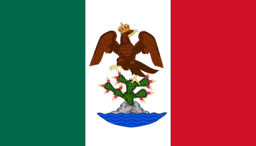 Флаг Мексиканской империи