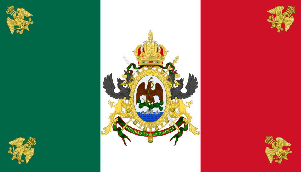 Флаг Мексики (1864-1867)