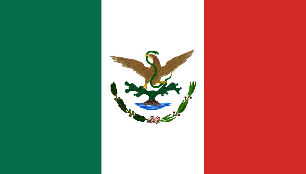 Флаг Мексики (1893-1916)