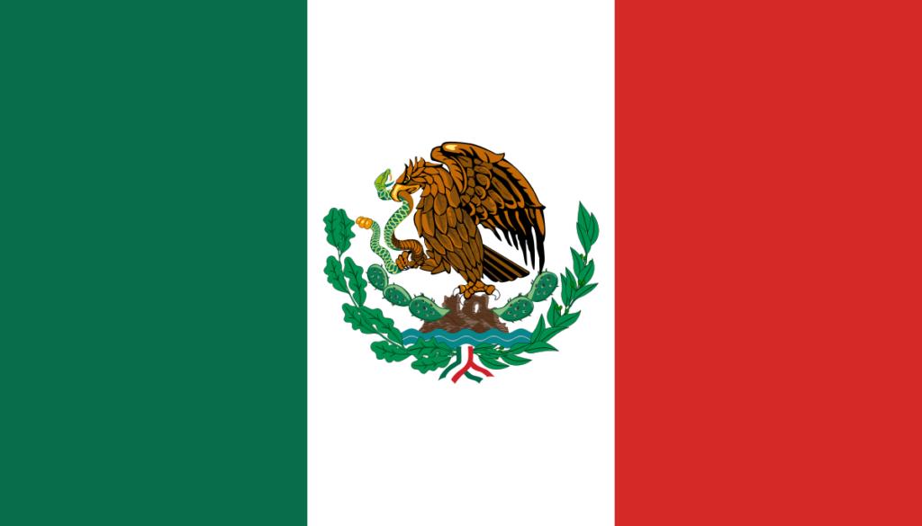 Флаг Мексики (1916-1934)